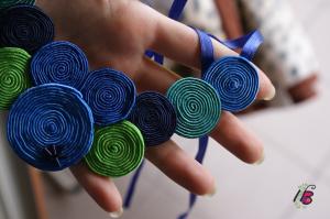 naszyjnik zielono-niebieski 3